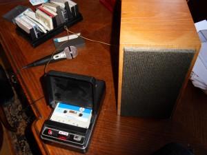 magnétophone à cassette 1968