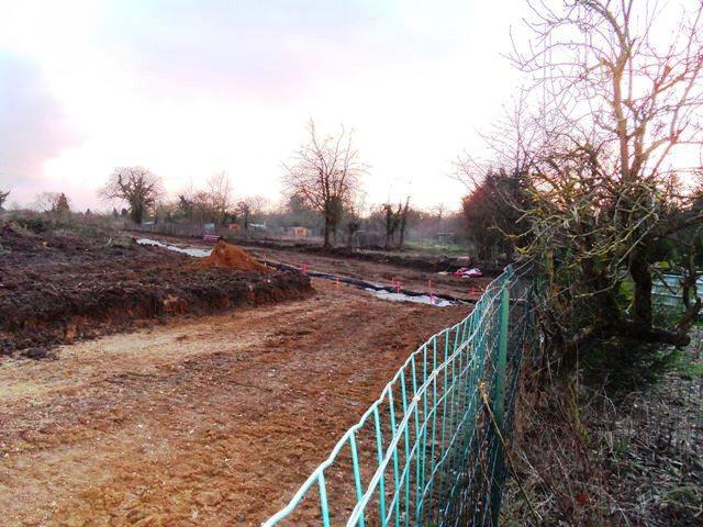 2014 27 février vue depuis le jardin d'un riverain rue de rouen